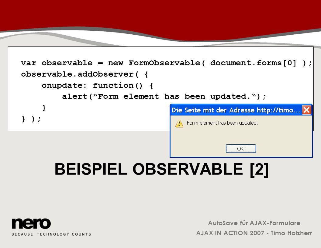 Beispiel Observable [2]